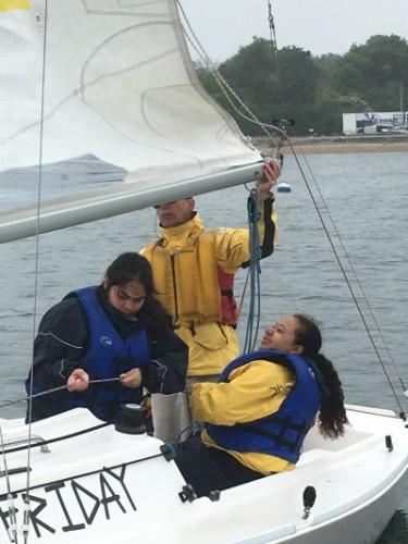 Felecity Johana sailing