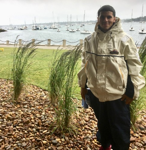Jan Carlos sailing outfit