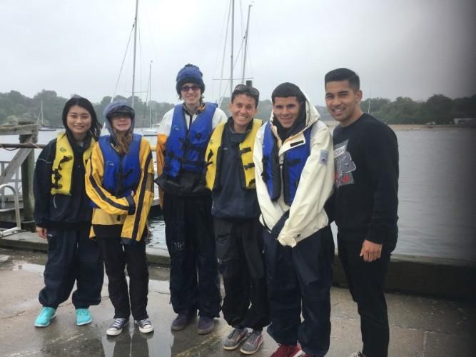 Kutasha group sailing