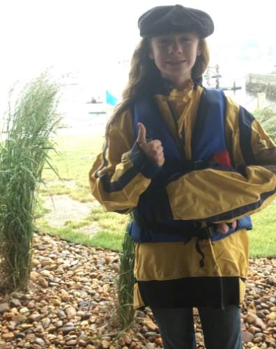 Quinn Highlander sailing outfit