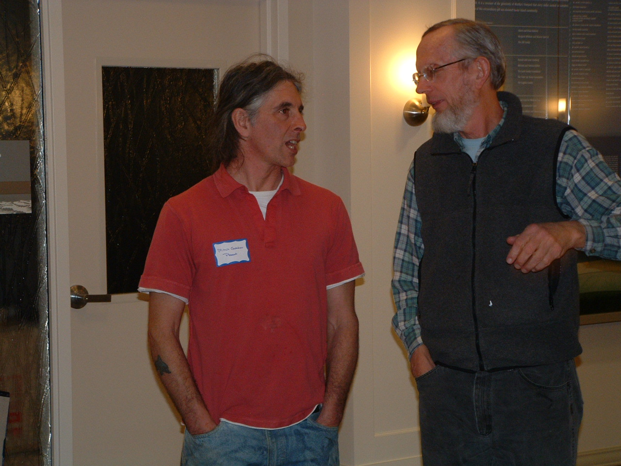 Mitch Gordon, Parent and Sidney Morris, MVYLI Advisory Council