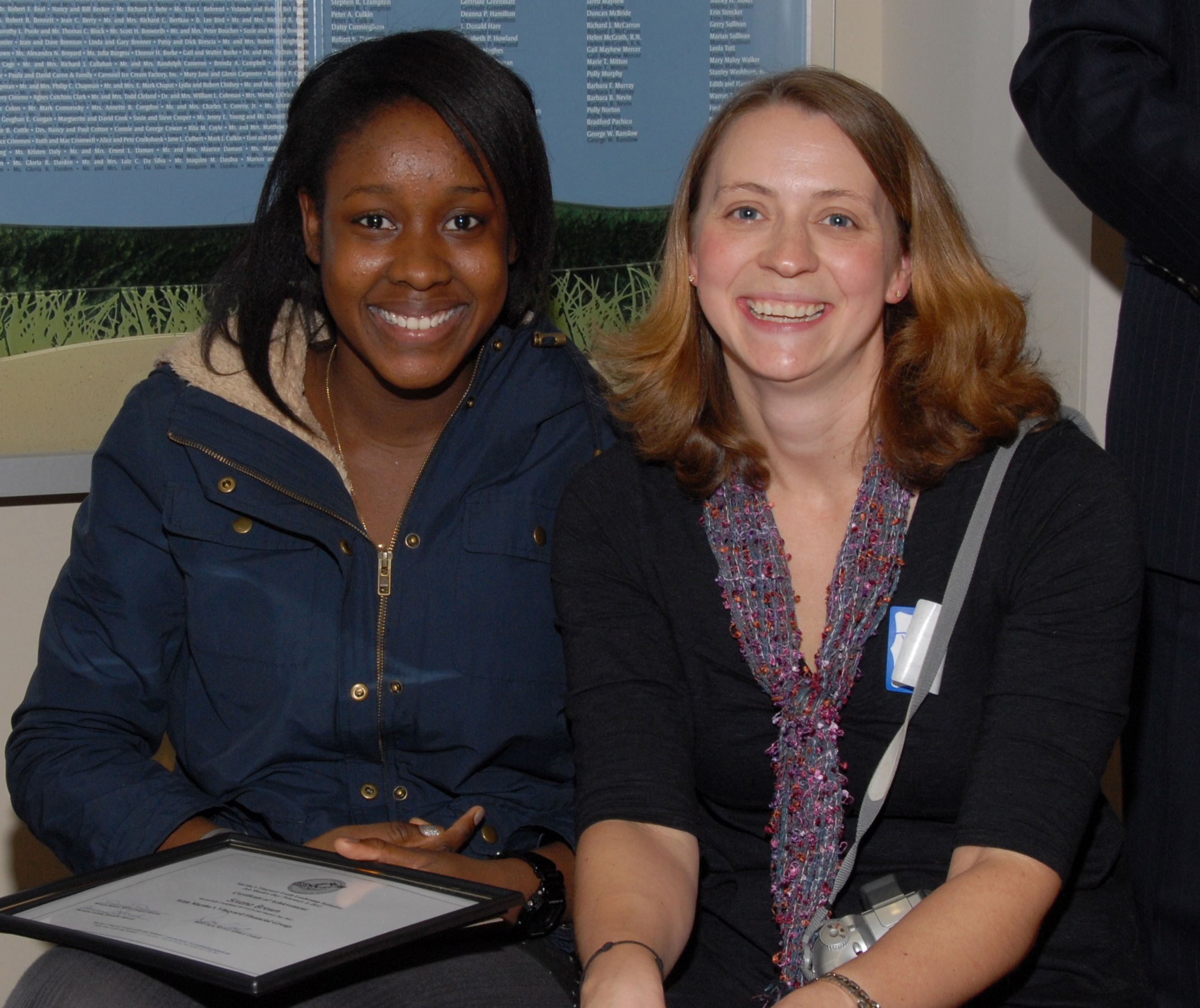 Sivana with Rebecca Rabeni MVYLI Project Director