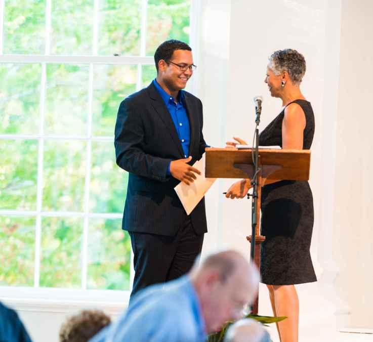 Josue receives WC scholarships